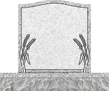 Individual Traditional Headstone - Wheat