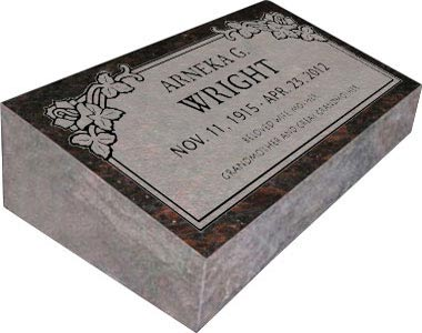 Bevel Grave Markers