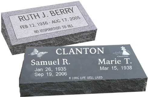 grave markers memorial stones